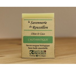 Savon bio L'authentique (100g)